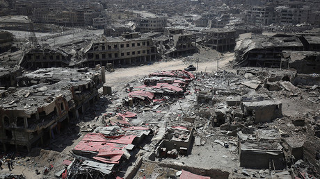 FILE PHOTO: General view of the destruction in Mosul's Old City © Ahmad Al-Rubaye