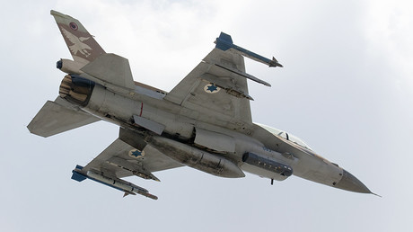 FILE PHOTO: Israeli Air Force F-16 D fighter jet © Jack Guez