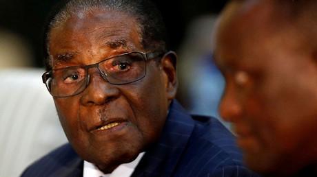 Zimbabwean President Robert Mugabe © Siphiwe Sibeko