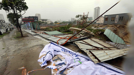 Typhoon Damrey strikes Vietnam, bringing death & destruction