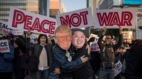 Trump's Asian trip marred by protests in Japan, South Korea
