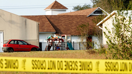The playground at the site of a shooting at the First Baptist Church of Sutherland Springs, Texas, U.S. November 6, 2017. © Rick Wilking