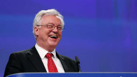 David Davis' Brexit team may have lost the public's faith - but another study says the nation is a little bit happier  © Francois Lenoir