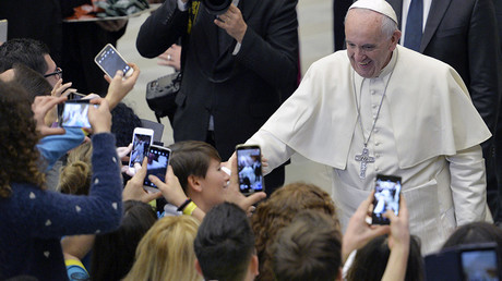 Pope Francis calls to adjust line in 'Our Father' about 'temptation'