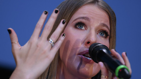 Presidential hopeful Sobchak says she supports US sanctions against Russia