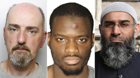 Thomas Mair, Michael Adebolajo, Anjem Choudary © Global Look Press / AFP / Reuters