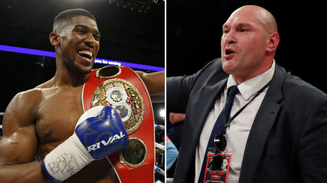 'Get fit you fat f***' – Anthony Joshua fires shots at former champ Fury