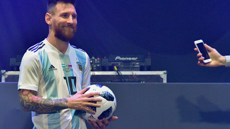 Messi launches official Russia 2018 World Cup ball in Moscow