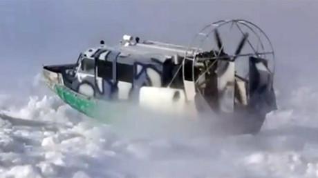 70yo woman blown off balcony by hurricane-like wind, taken to hospital in back of truck