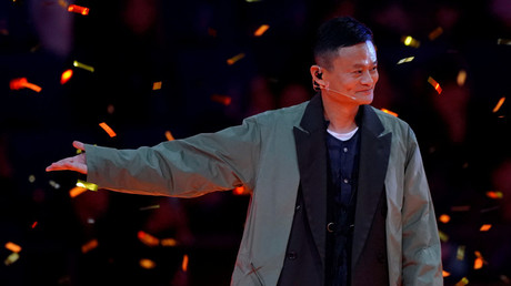 Jack Ma, Chairman of Alibaba Group. © Aly Song