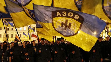 Growing number of German & intl fighters join Ukrainian neo-Nazi Azov Battalion – report