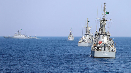 FILE PHOTO: Saudi warships are seen during ÒGulf Shield 1Ó exercise by members of Royal Saudi Navy, east of Saudi Arabia © Faisal Al Nasser