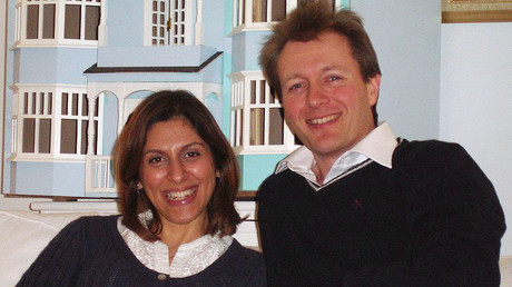 Nazanin Zaghari-Ratcliffe and her husband, Richard Ratcliffe © Wikipedia