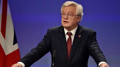 Britain's Secretary of State for Exiting the European Union David Davis © Eric Vidal