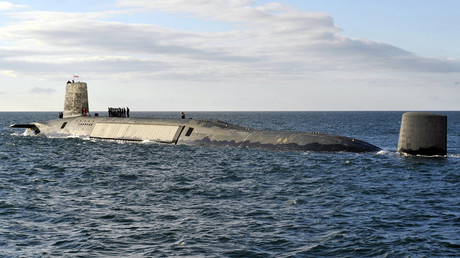 A picture shows the Trident Nuclear Submarine, HMS Victorious © ANDY BUCHANAN / AFP