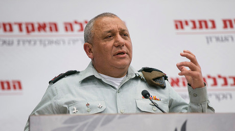 Israel's Chief of Staff Lieutenant-General Gadi Eizenkot © Baz Ratner