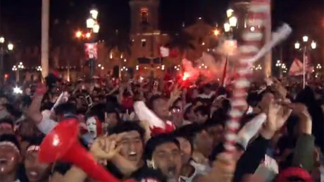 Fans in Lima celebrate as Peru qualifies for World Cup after 36-year absence