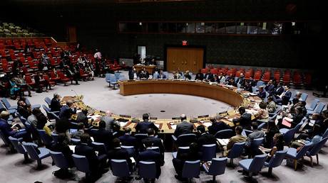 Russia vetoes 'unbalanced' US resolution on Syrian chemical weapons, but its draft fails