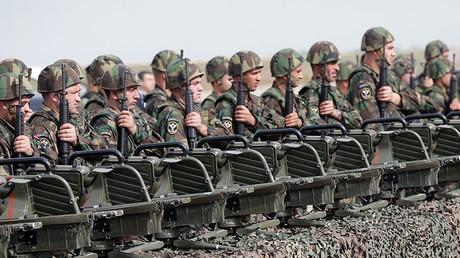 Lebanese soldiers. ©Joseph Eid