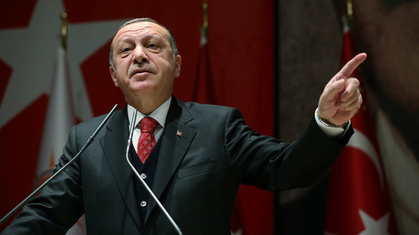 Erdogan accuses US of financing ISIS, breaking promises in Syria