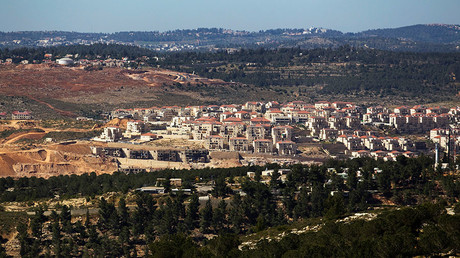 A general view shows the West Bank Jewish settlement of Beitar Ilit, near Bethlehem April © Amir Cohen