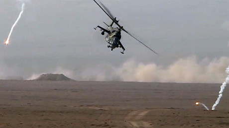 Russia & allies hold large-scale military drills in Tajikistan