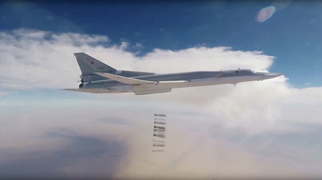 Russian strategic bombers strike ISIS targets in south-east Syria for third day – military