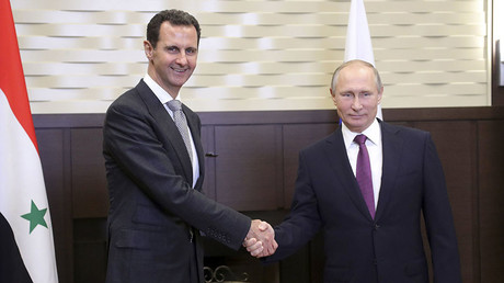 'Fight against terrorism in Syria nearing an end': Putin & Assad meet, discuss political settlement
