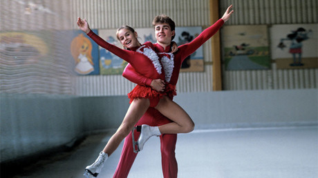 The 1986 World Champions in pairs skating Ekaterina Gordeyeva and Sergei Grinkov. © Aleksandr Yakovlev