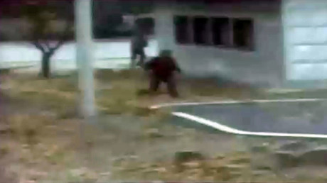 N. Korean defector's escape in dramatic chase & shooting caught on CCTV (VIDEO)