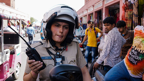 Female motorbike squad to safeguard women in Delhi, India's 'rape capital'