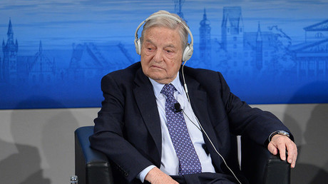 Soros predicts EU breakdown, calls Russia 'resurgent power'