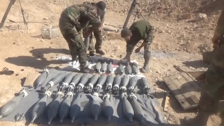 Syrian Arab Army scores gains in areas near Golan Heights