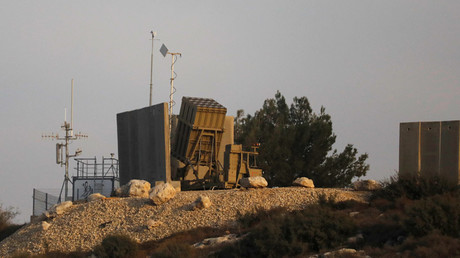 FILE PHOTO An Iron Dome anti-missile system © Ronen Zvulun