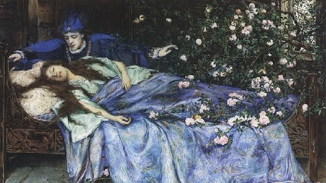 Sleeping Beauty, Henry Meynell Rheam. © Wikimedia Commons