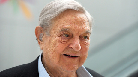 Soros sheltering $18bn that American tax authorities can never touch