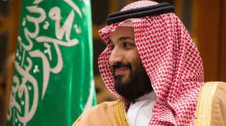 Saudi Crown Prince Mohammed bin Salman in Riyadh, November 2017 © Saudi Press Agency