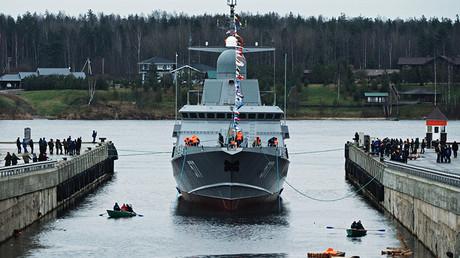 Russia floats 2nd Karakurt-class littoral combat ship