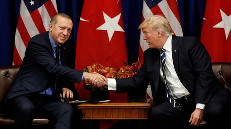 Trump briefs Erdogan about 'pending adjustments' to military support for US-backed forces in Syria