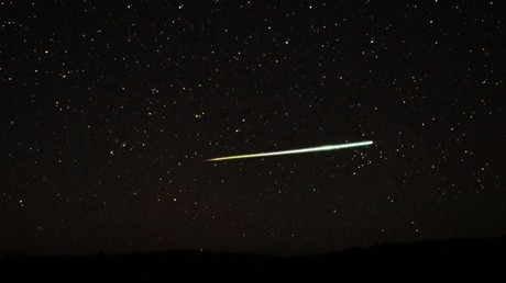 Mysterious satellite plummets to Earth in fireball (PHOTOS)