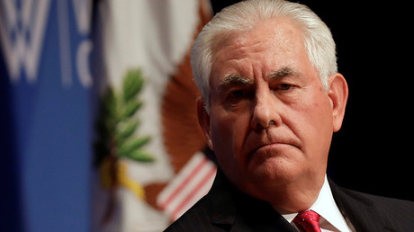 'Laughable': Tillerson dismisses report that Trump will fire him from State Dept