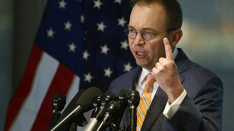 Office of Management and Budget (OMB) Director Mick Mulvaney © Joshua Roberts
