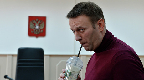 Protesters across Russia turn out in support of opposition figure Navalny