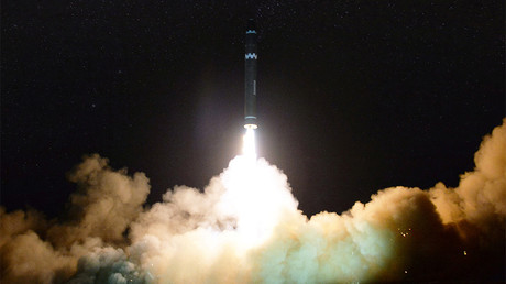 North Korea releases photos of ICBM from latest test 'capable of striking US'