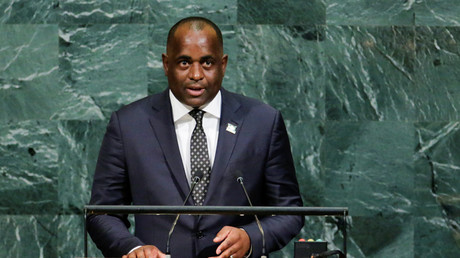 Gone with the wind? Ft. Roosevelt Skerrit, prime minister of Dominica