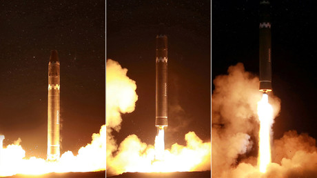 North Korea releases photos of ICBM from latest test