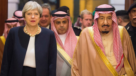 Theresa May gunning for post-Brexit trade deals on Middle East charm offensive