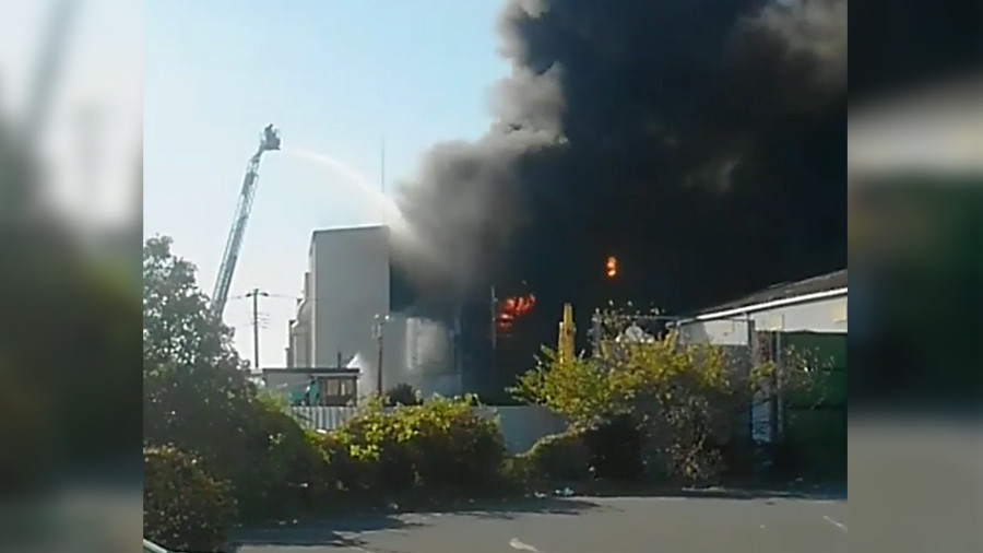 Explosion at chemical plant in Japan causes injuries, evacuation ordered (PHOTOS, VIDEO)