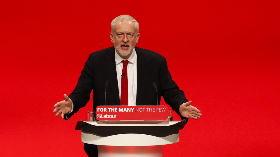 'You're right – we are dangerous… to the few,' Labour's Jeremy Corbyn tells Morgan Stanley