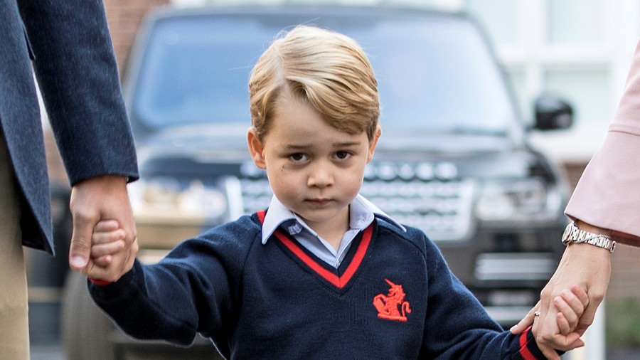 'Pray Prince George is gay': Clergyman wants 4yo royal to find 'love of fine young gentleman'